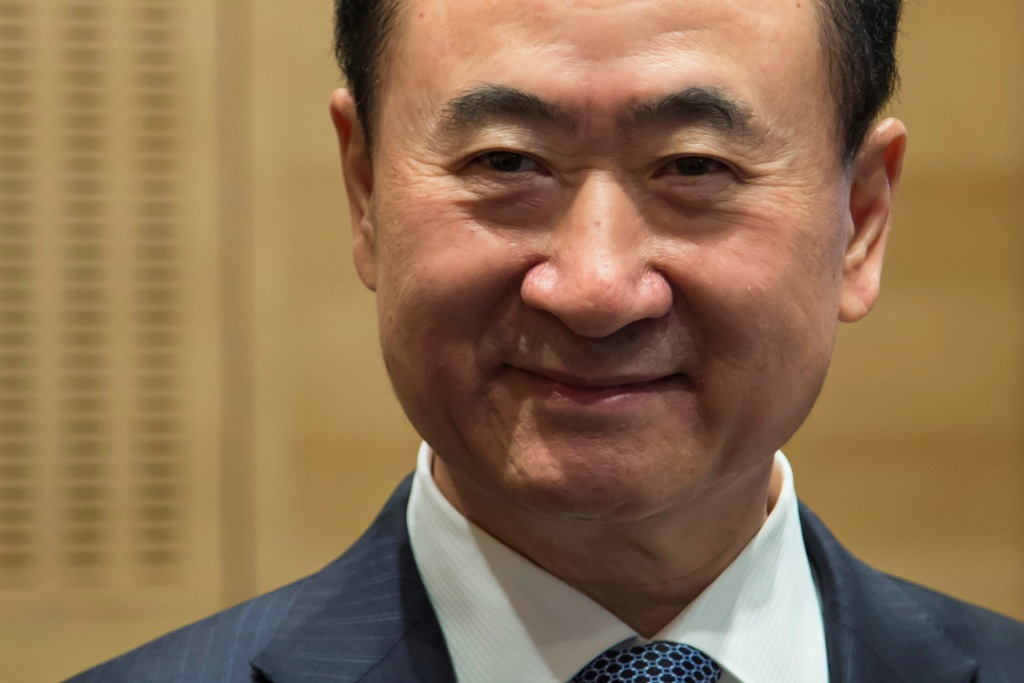 Wang Jianlin, Chairman of Dalian Wanda Group