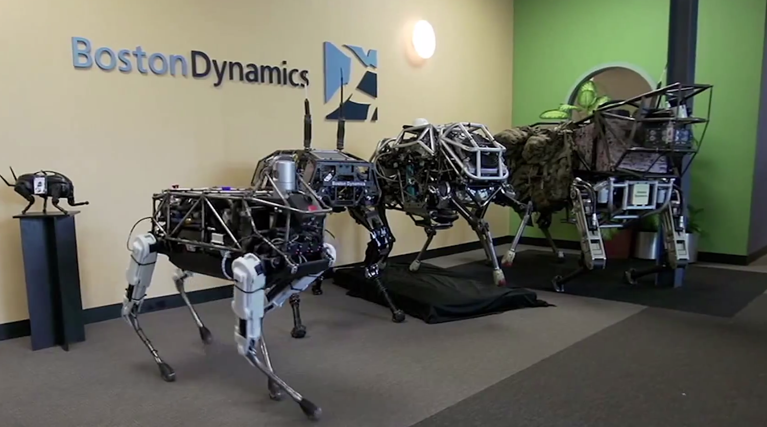Meet Spot: The new robot dog from Google's Boston DynamicsWe respect your privacy!
