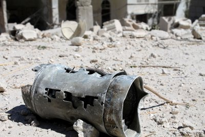 syria barrel bombs