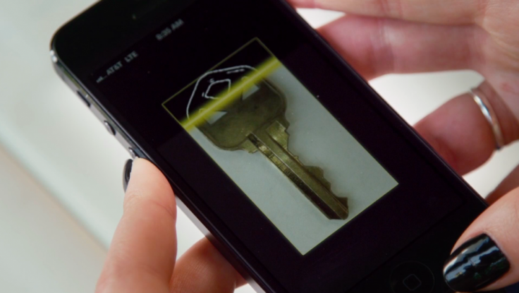 KeyMe's app scans the image of the key and reviews the image to make sure it meets with the firm's security standards