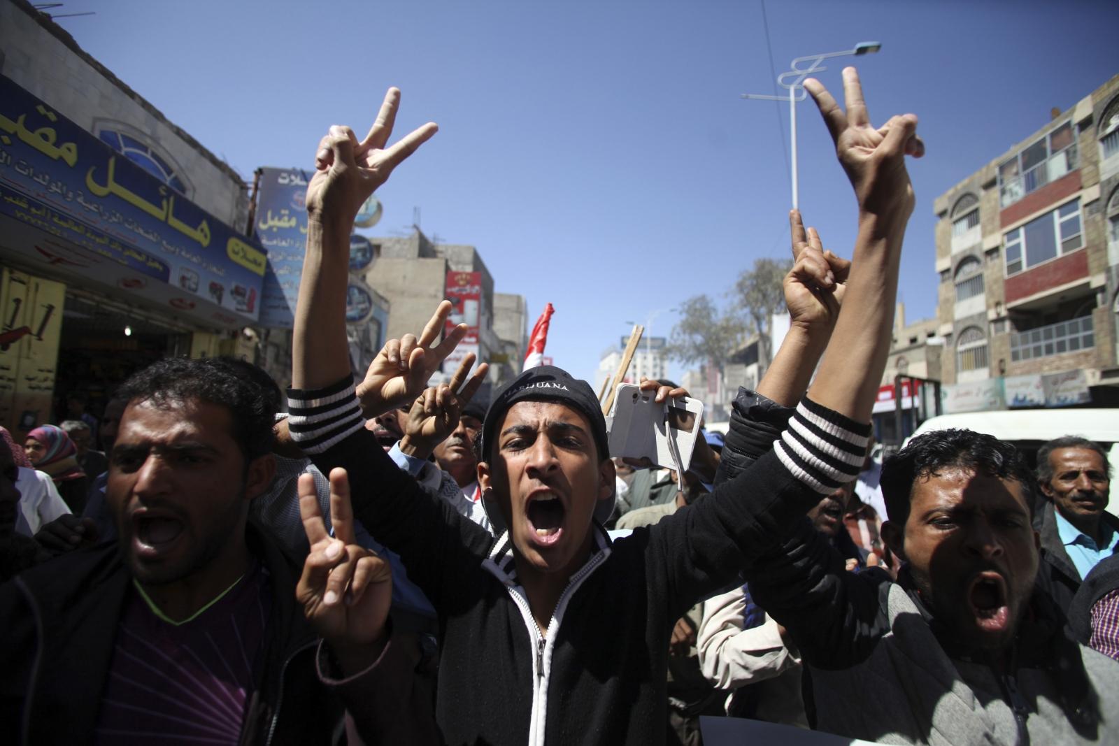 Yemen protest