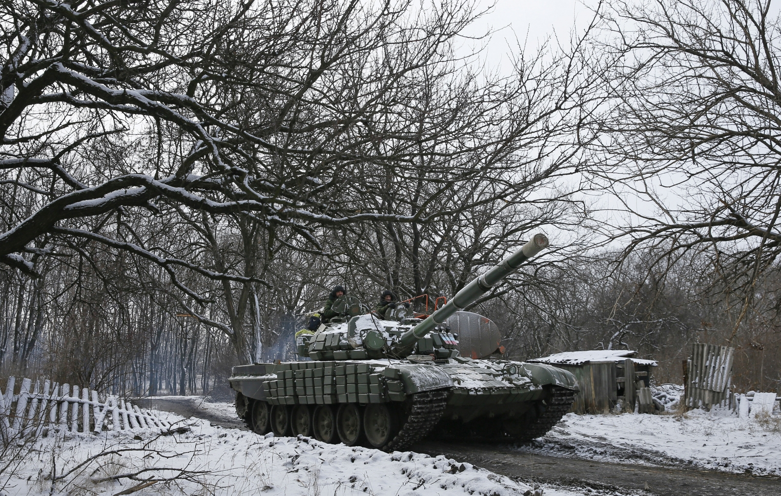 Minsk talks over eastern Ukraine violence