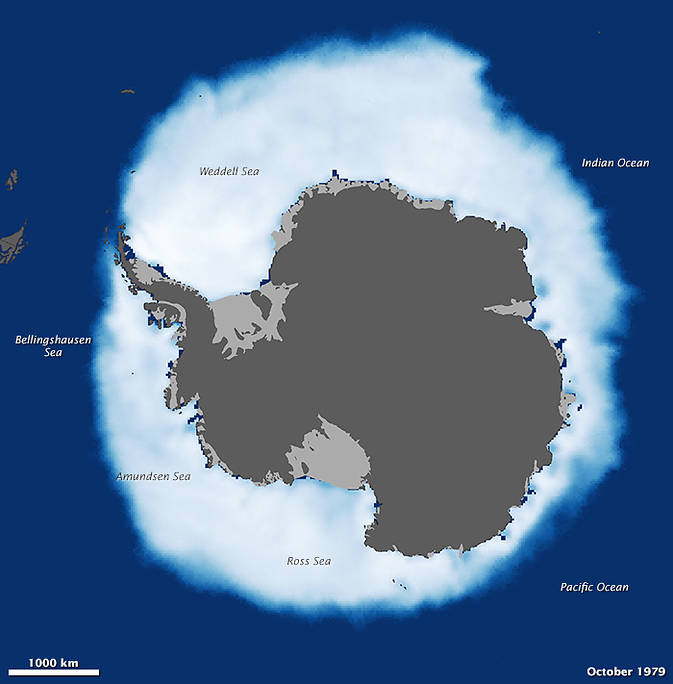 Antarctic sea ice before