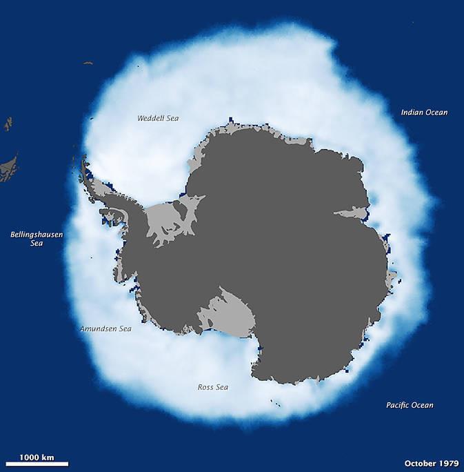 Antarctic sea ice before