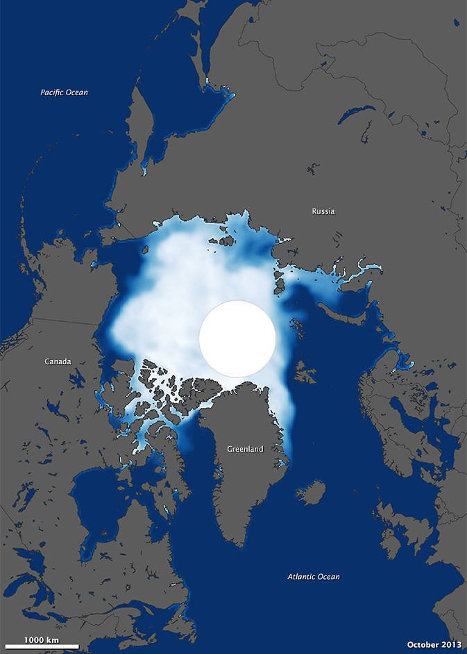 Arctic sea ice after