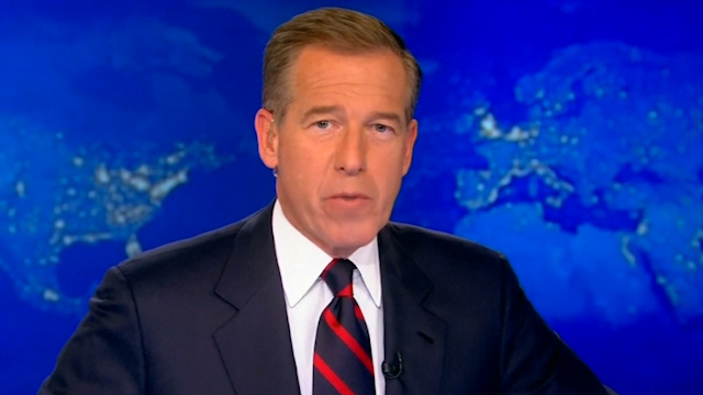 NBC's Brian Williams suspended for six months after Iraq exaggeration