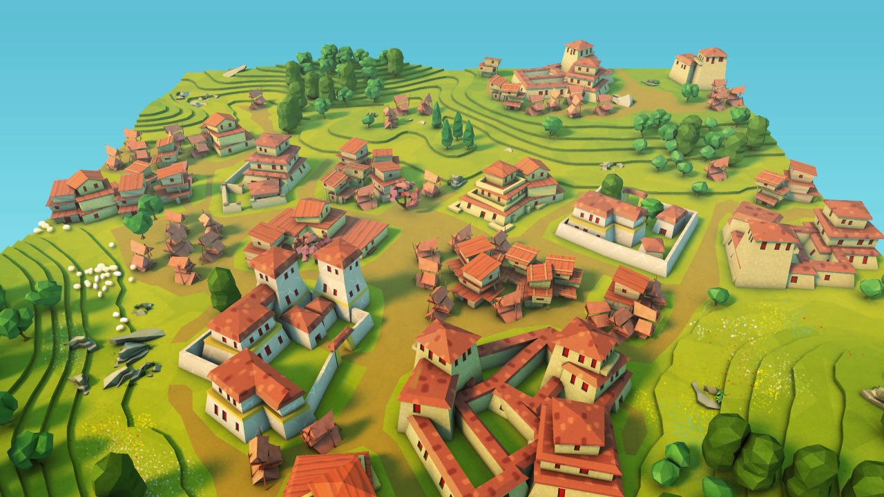 Godus screenshot peter molyneux