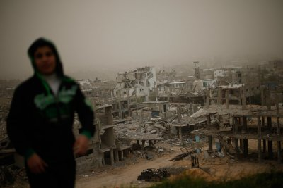 sandstorm Israel