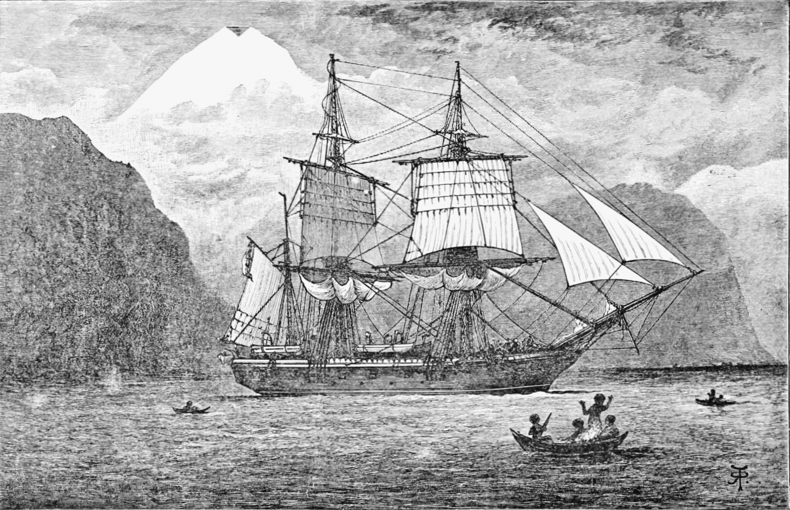 Charles darwins expedition on hms beagle in 1844