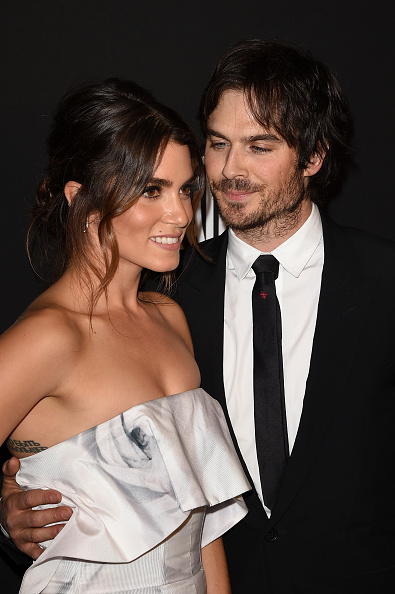 Is elena from vampire diaries dating damon in real life