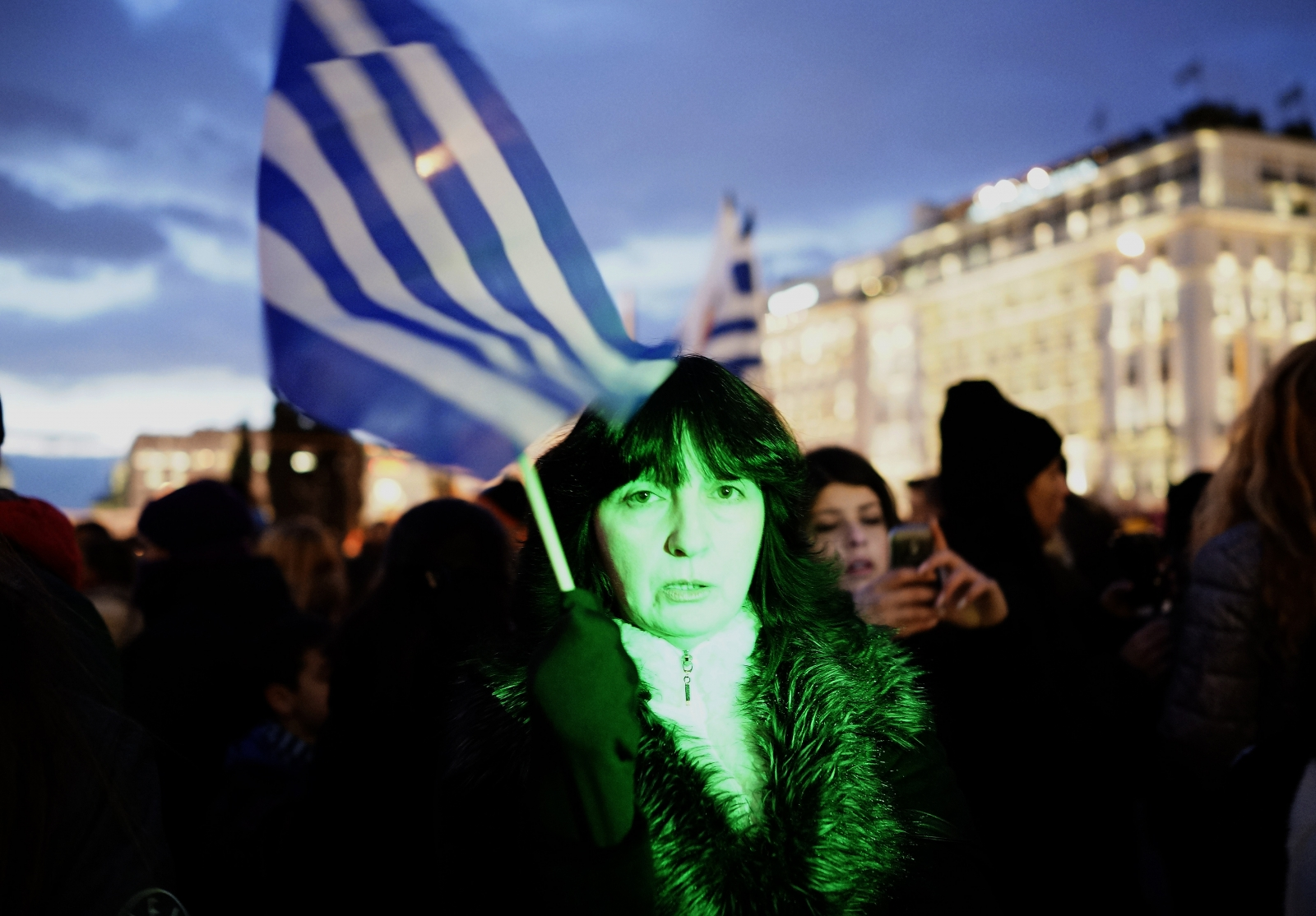 Greek anti-austerity protest