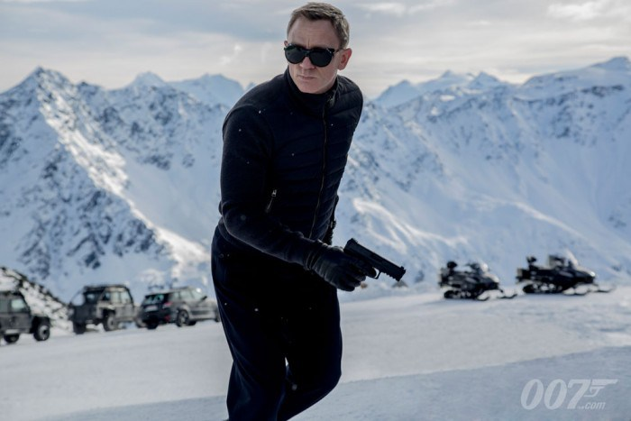 Spectre: First footage of new James Bond film released