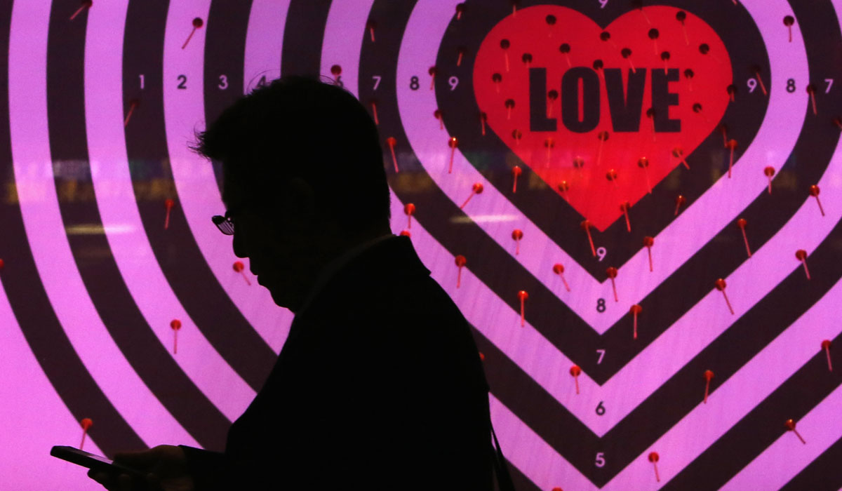 Valentine's Day Apps Love Smartphones