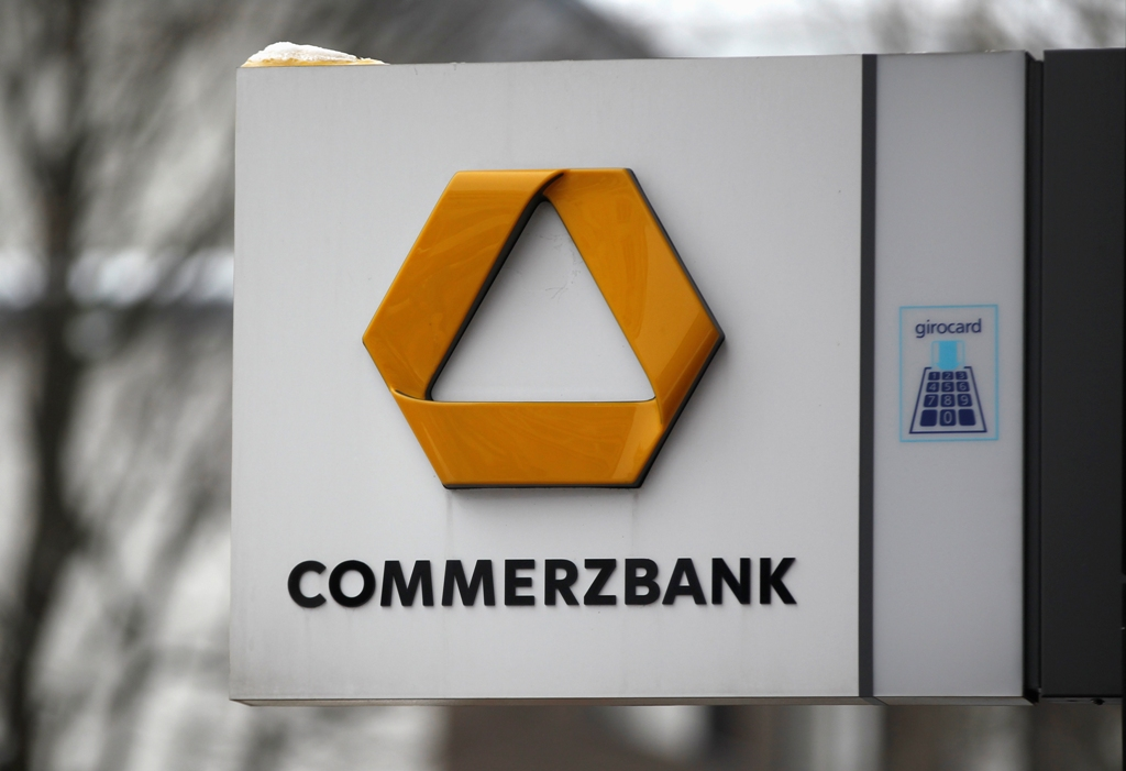 Commerzbank trades lower on news it could raise provisions for potential US fines