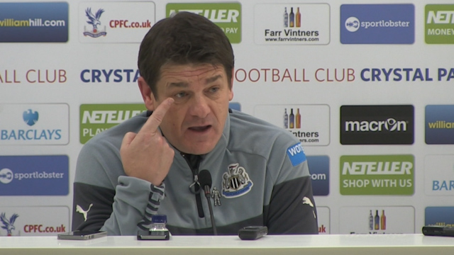 John Carver: Coloccini 'could have been blinded'