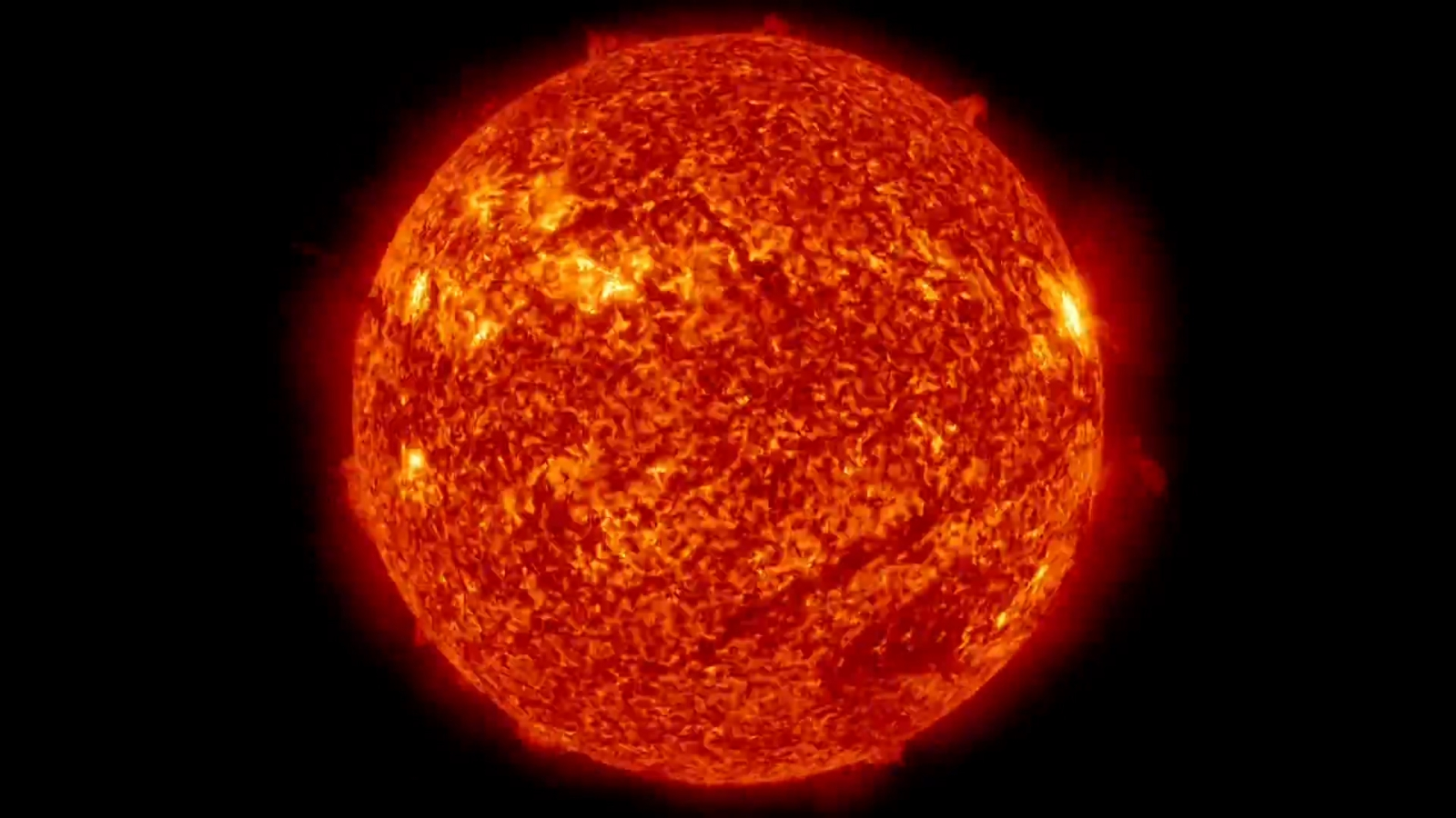 Incredible five year time-lapse video of the sun released by Nasa