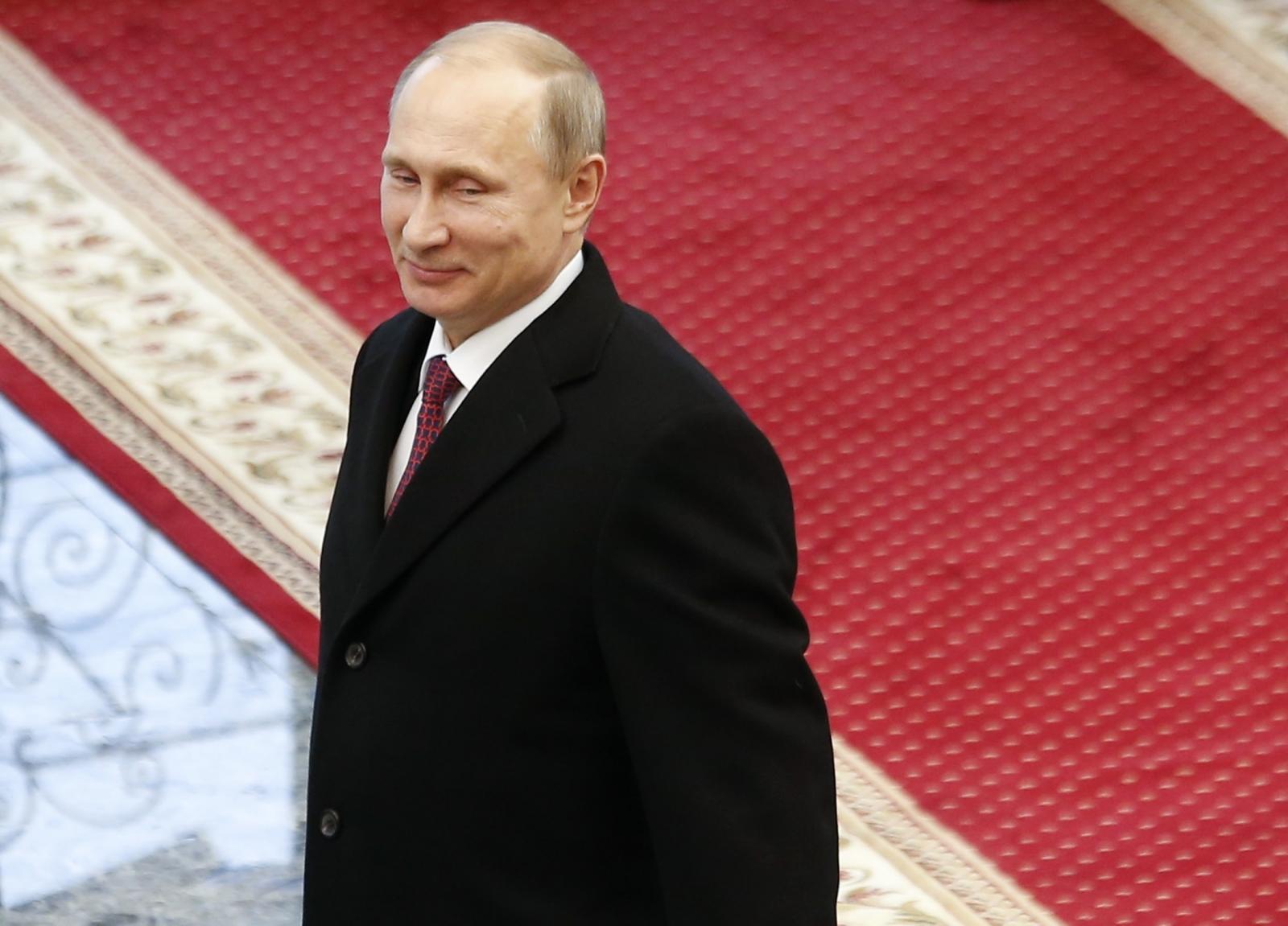 Russian President Vladimir Putin Ukraine