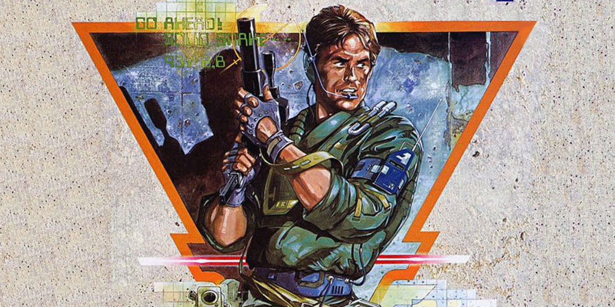 Metal Gear Cover Art Snake