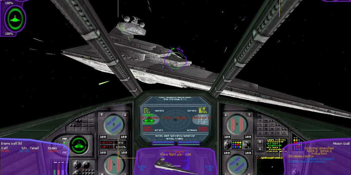 Star Wars X-Wing Tie Fighter