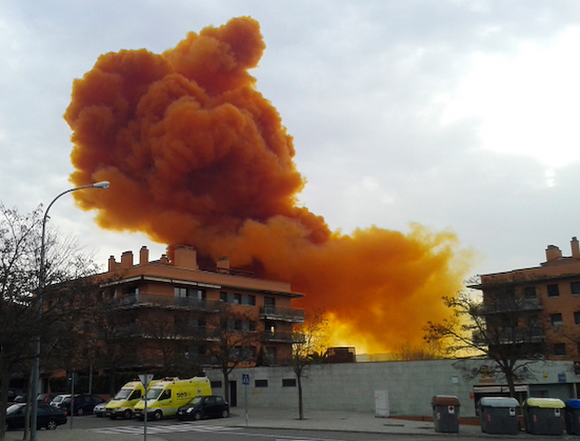 Igualada orange cloud