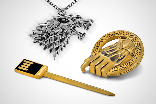Game of Thrones USB memory sticks