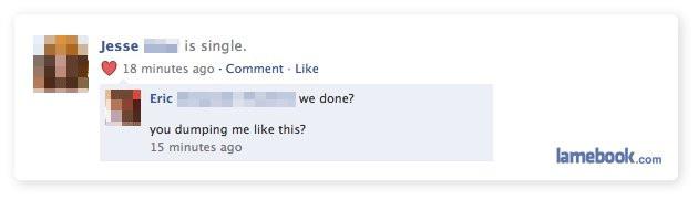 Break up facebook