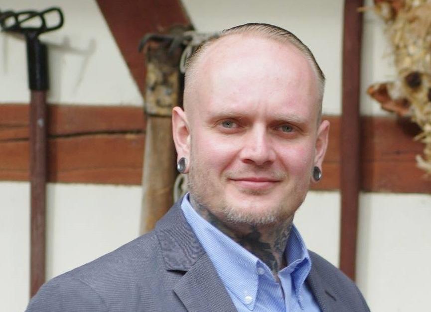 Greiz NPD councillor David Kockert