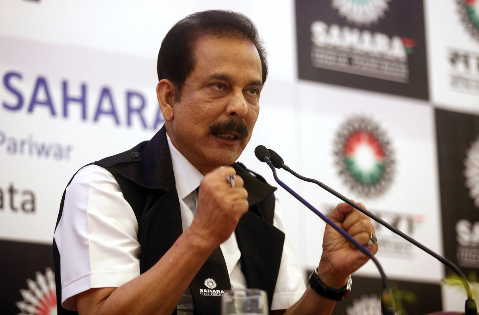 Sahara India Pariwar's Subrata Roy