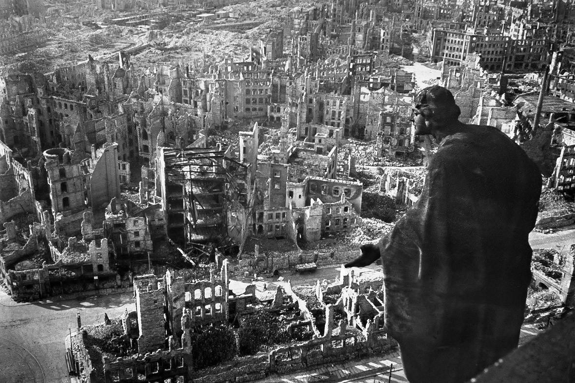 dresden firebombing 70th anniversary