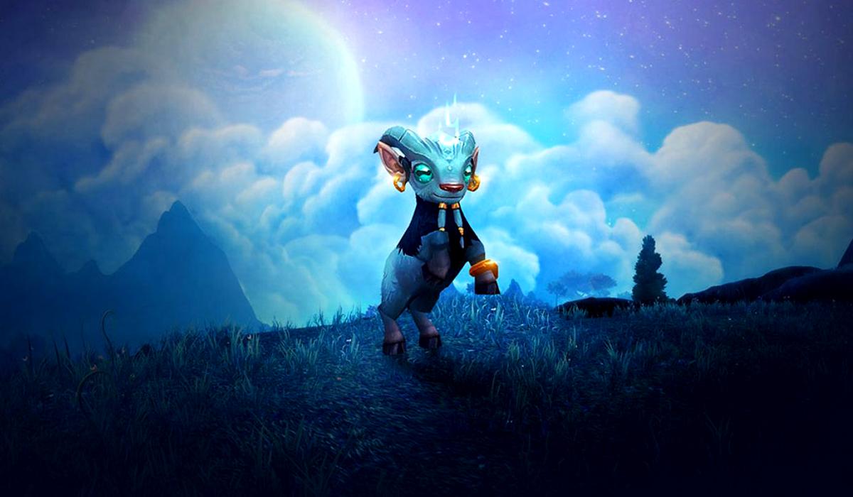 Argi World of Warcraft Goat Pet