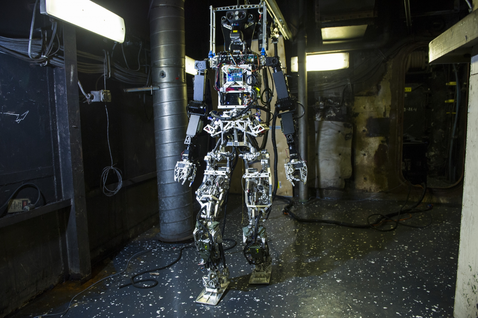 Meet SAFFiR - a new humanoid robot built for the US Navy that can walk, climb, open things and navigate obstacles just like a human
