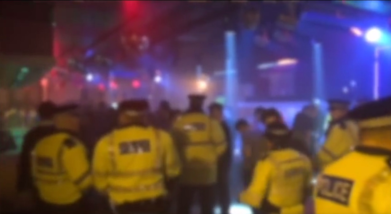 Garlands club raided by Merseyside Police