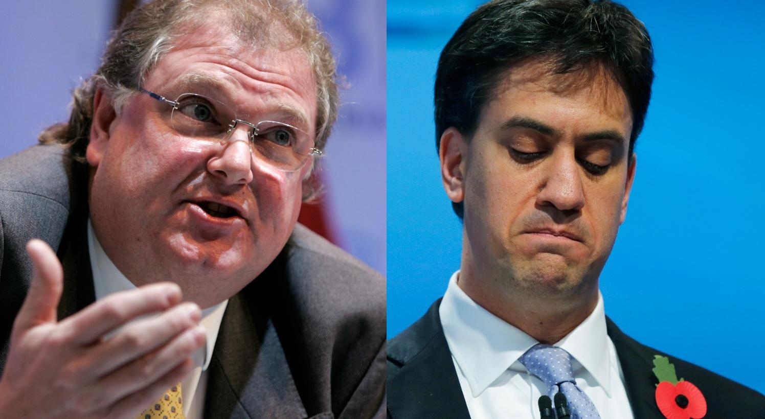 Lord Jones and Ed Miliband