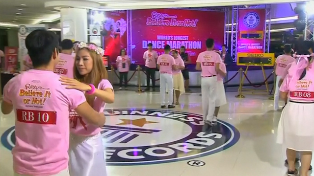 Valentine's Day 2015: Couples kick off the World's Longest Dance Marathon bid