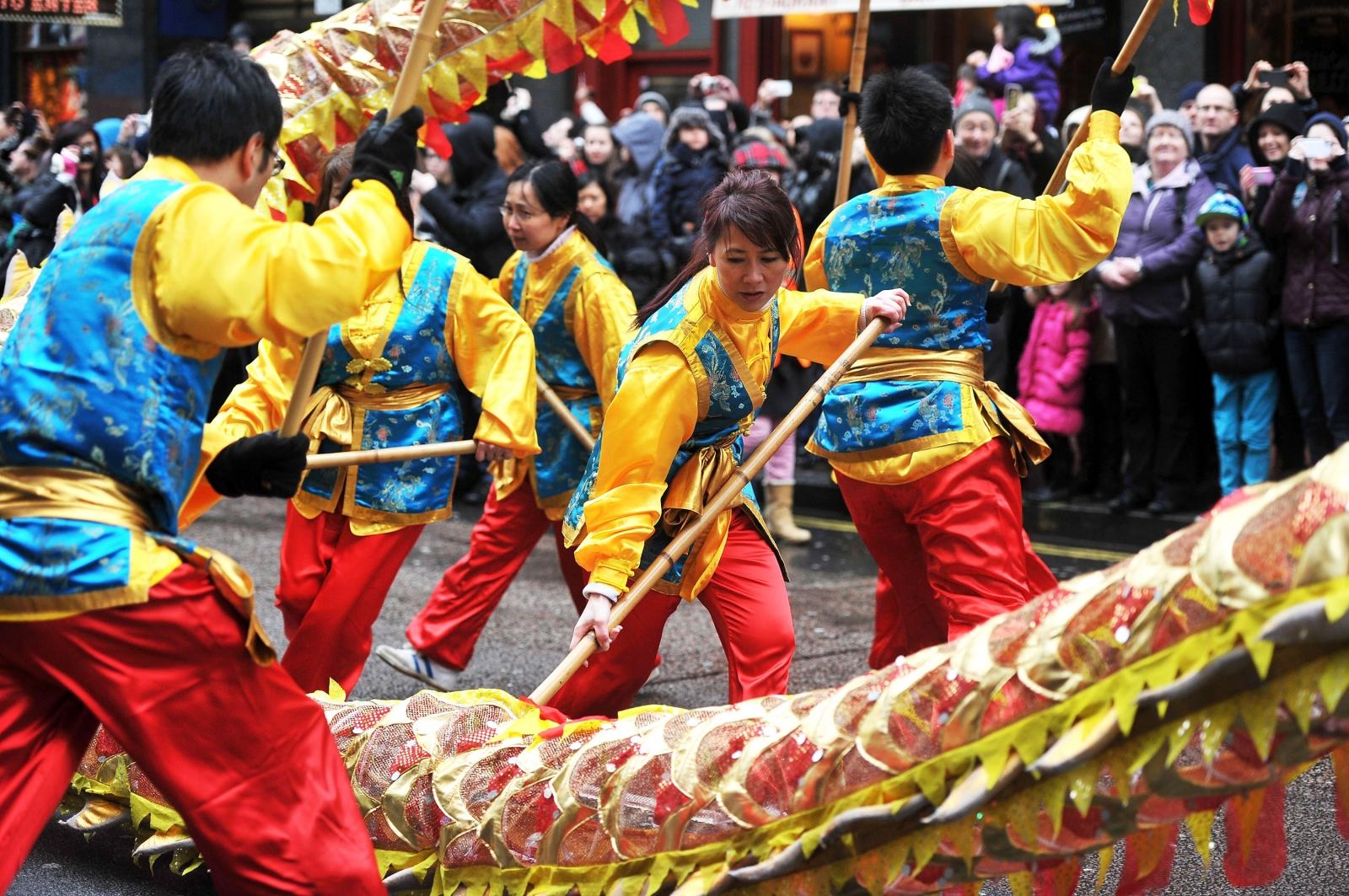 Chinese New year london
