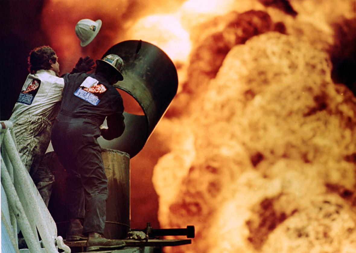 Iraq oil wells