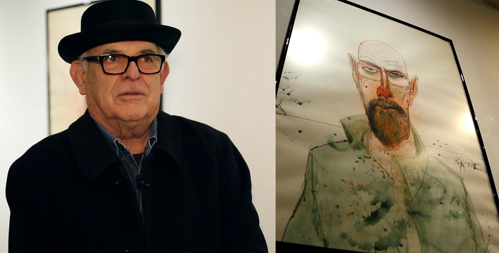 Breaking Bad: Ralph Steadman art exhibition of cult TV series opens in London