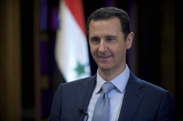 Syrian president Bashar al Assad