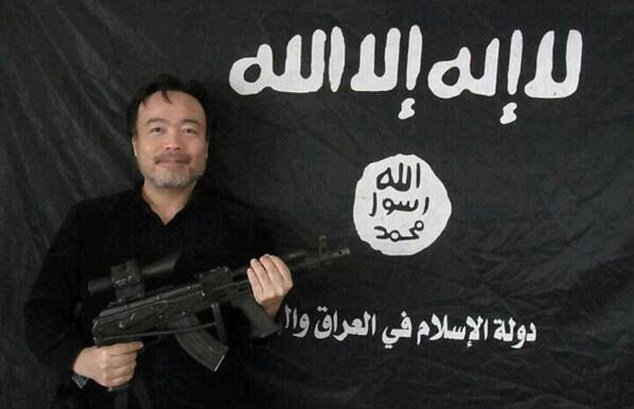 Kosuke Tsuneoka says he plans to get in touch with his 'old friends' within Isis again