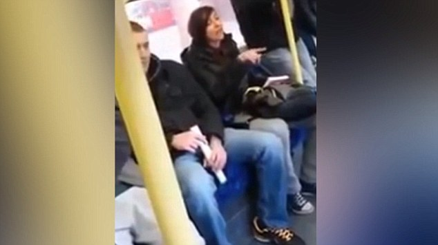 Racist rant on London Underground
