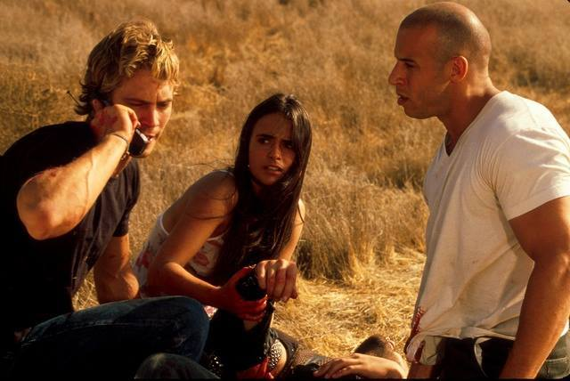 Paul walker in Fast and Furious 7