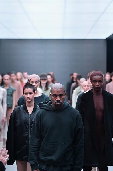 Kanye West NYFW