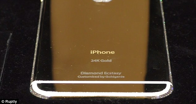 World S Most Expensive Iphone 6 Goes On Sale With A 163 2 3m