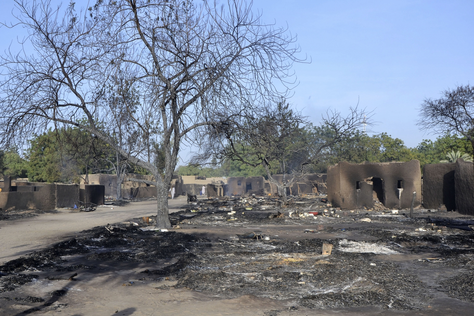 Boko Haram fighters attacked the village in Chad on Friday, the first known lethal attack in that country by the Nigerian militant group