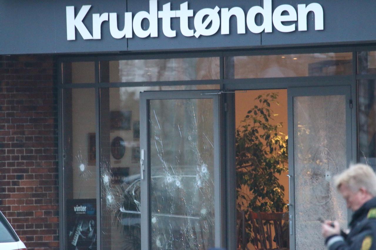 Copenhegan shooting cafe February 2015