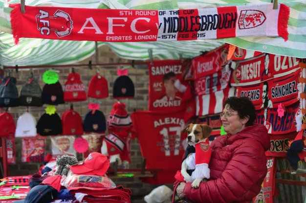 Arsenal Middlesbrough