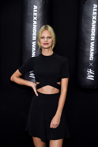 Victoria's Secret model Nadine Leopold
