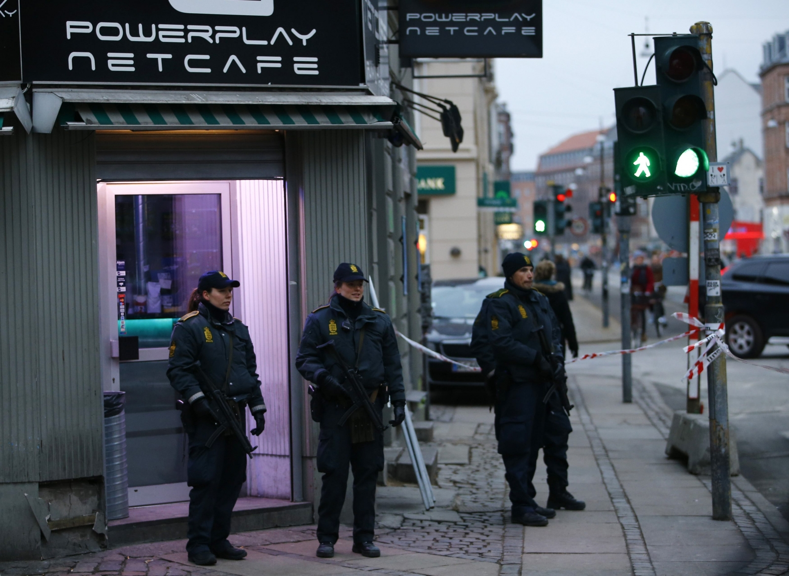 Copenhagen attacks: Amateur video shows café shooting aftermath