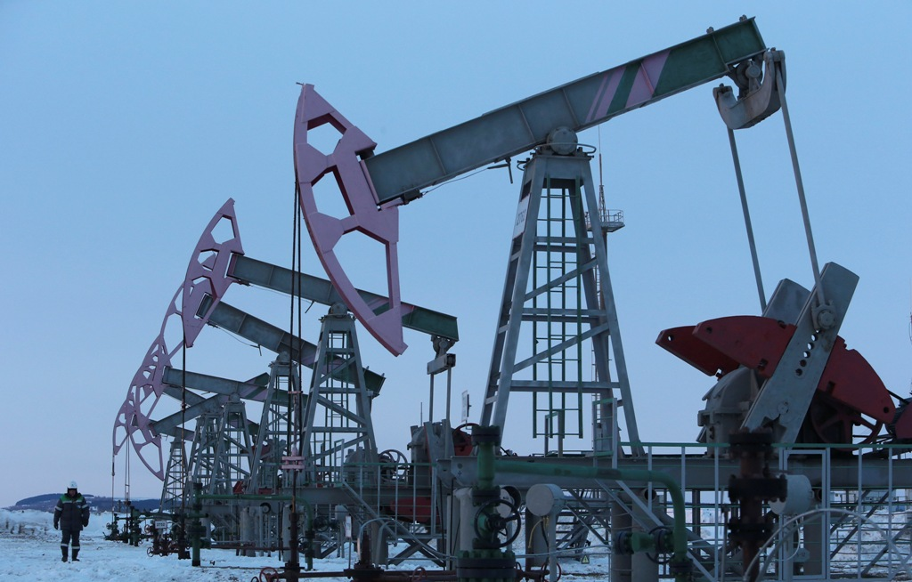 Oil Pump Jacks Russia