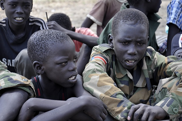 south sudan war child soldiers